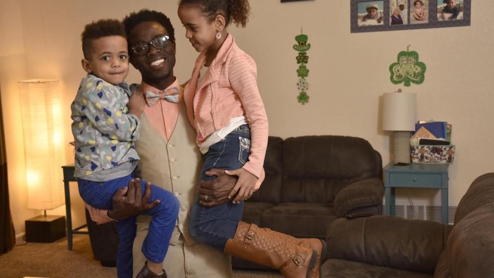 bertine e seus filhos