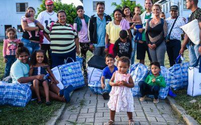 Interiorização renova sonhos e cria oportunidades para mais 5 mil venezuelanos no Brasil