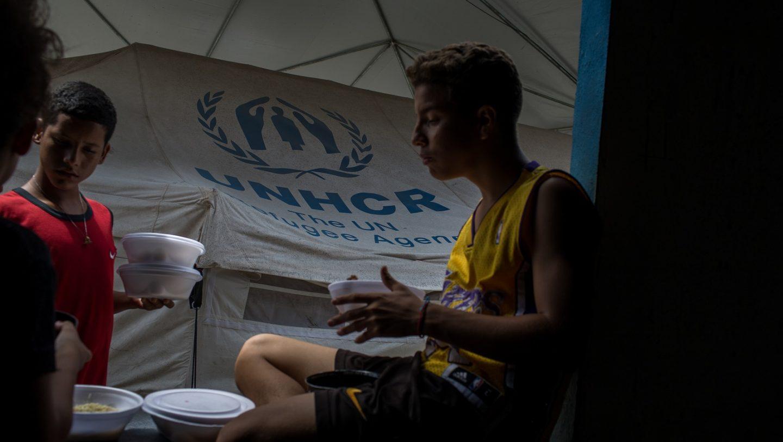 Venezuelan Refugee in Brazil