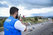 ACNUR está presente na fronteira com a Venezuela e presta serviços humanitários à população