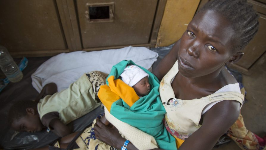 """""""Eu estava grávida e caminhei por três dias sem água ou comida. Espero conseguir alimentar meus filhos"""""""