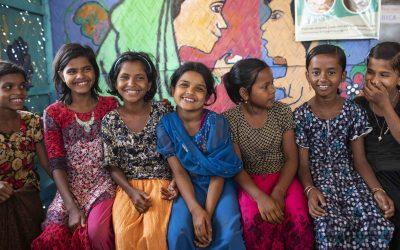 Projeto inovador promove a saúde mental de jovens rohingya