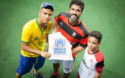 Amistoso entre Flamengo e Iranduba promove solidariedade  a refugiados venezuelanos acolhidos em Manaus
