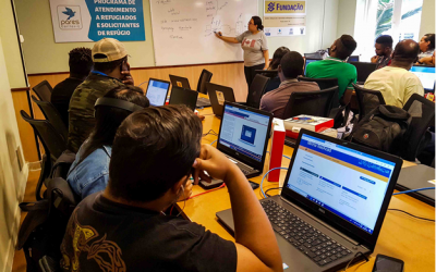 Novo projeto da Cáritas RJ capacita refugiados em tecnologia da informação