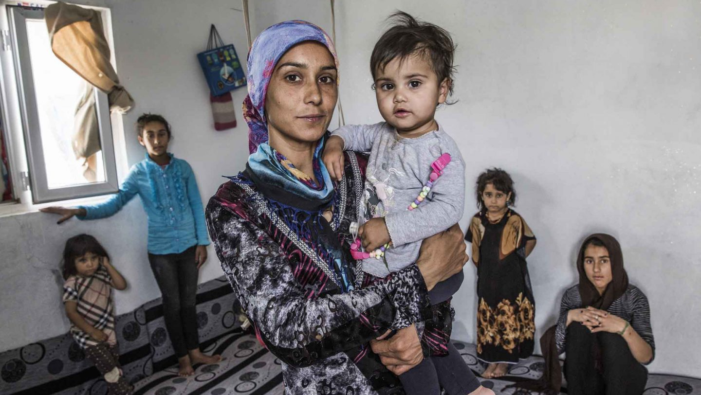 Iraq. Syrian families displaced by war show remarkable resilience in Domiz camp