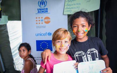 Projeto promove ensino para crianças e adolescentes refugiados