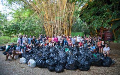 Venezuelanos e brasileiros removem uma tonelada de lixo da maior bacia hidrográfica do mundo