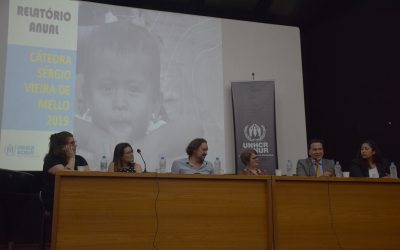 Dobra o número de pessoas refugiadas matriculadas em universidades brasileiras associadas ao ACNUR