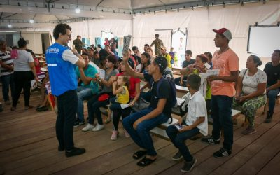 Posto de Interiorização e Triagem de Manaus atende mais de cinco mil refugiados e migrantes em dois meses
