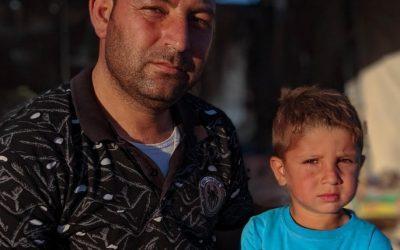 Refugiado sírio é forçado a deixar tudo para trás pela quinta vez