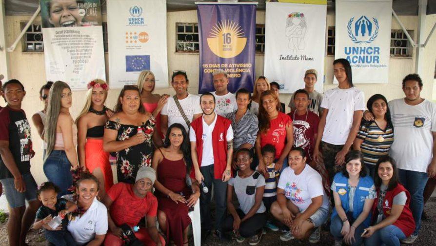 Oficina sobre lugar de fala LGBTI mobilizou comunidade refugiada no Centro de Apoio a Refugiados e Migrantes de Manaus, o CARE