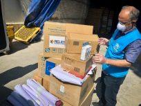 ACNUR envia 4 toneladas de ajuda humanitária ao Irã