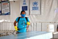 Participação comunitária fortalece prevenção à COVID-19 nos abrigos para venezuelanos em Roraima