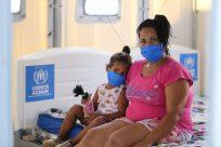 Com apoio do ACNUR, hospital de campanha para COVID-19 inicia atendimento a refugiados e comunidade local em Boa Vista