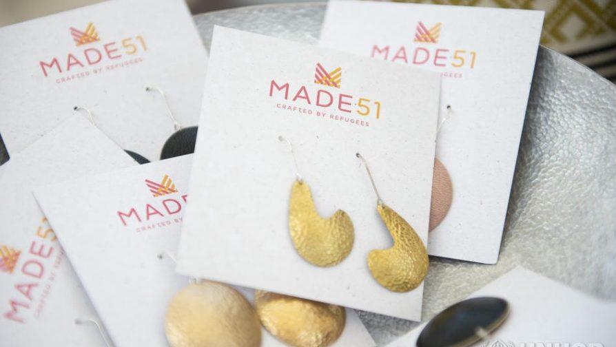 A coleção Made51, apoiada pelo ACNUR, traz a tradição, as habilidades e a habilidade artesanal de produtos refugiados para o mercado global