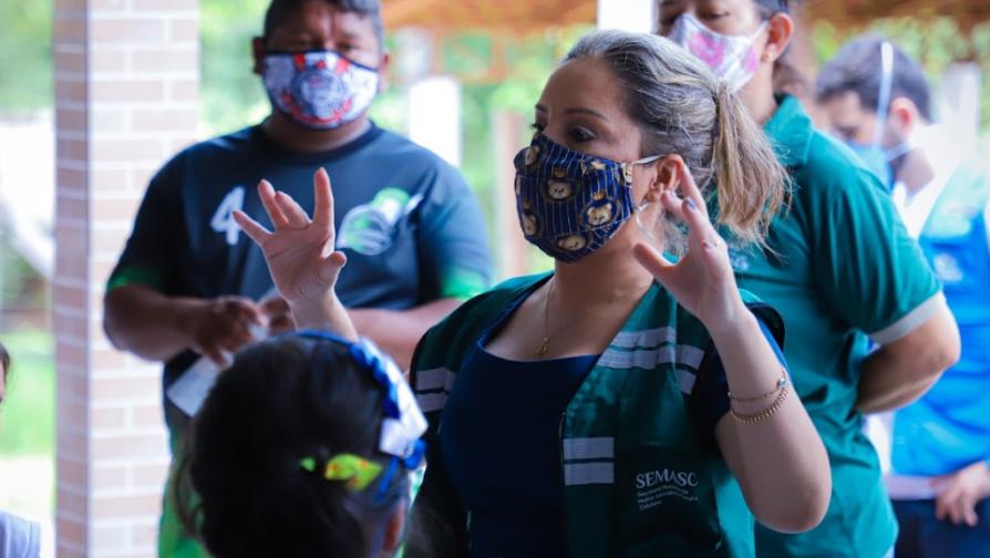 Ação teve coordenação da Prefeitura de Manaus, por meio da Secretaria Municipal da Mulher, Assistência Social e Cidadania (SEMASC)