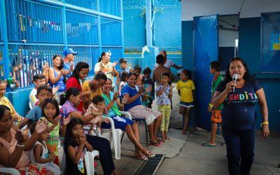 Mais da metade dos indígenas venezuelanos no Brasil já recebeu apoio do ACNUR