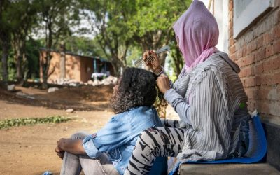 Refugiada sobrevivente de abuso sexual recebe apoio para recomeçar