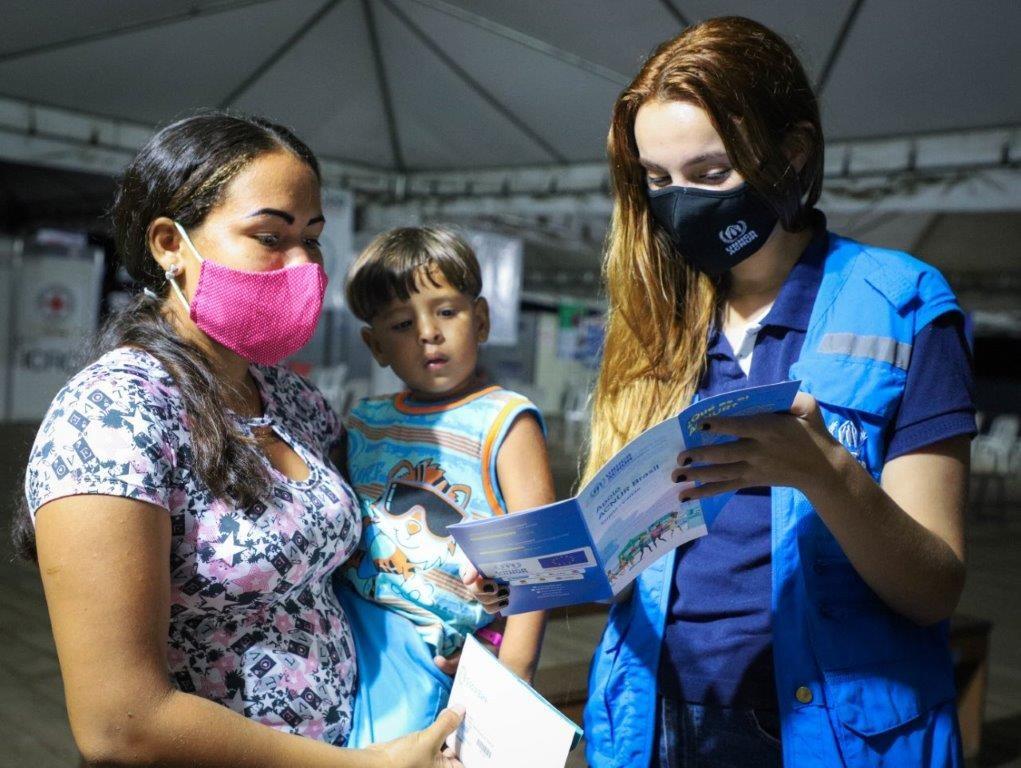 venezuelanos-interiorizados-recebem-doacoes-do-ACNUR-2