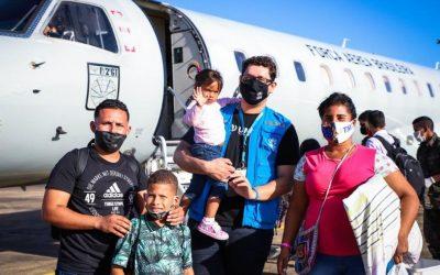 Venezuelanos interiorizados recebem doações do ACNUR para recomeçar a vida em outras partes do país