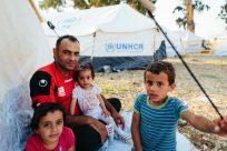 ACNUR expande abrigamento para solicitantes de refúgio em Moria e pede soluções de longo prazo para lidar com a superlotação nas ilhas gregas