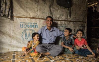 Tudo o que o ACNUR fez em 2020 com o seu apoio