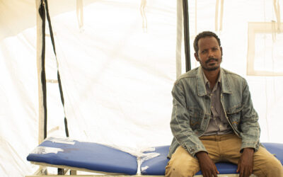 Conheça quem são as pessoas que abandonaram o Tigré para sobreviver
