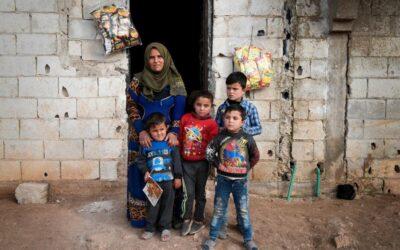 Sírios enfrentam a miséria após uma década de sofrimento