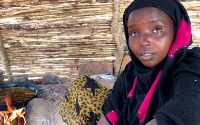 No Chade, refugiada centro-africana mantém viva a esperança