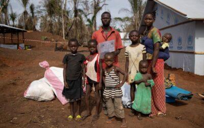 Refugiados centro africanos encontram segurança e solidariedade na RDC