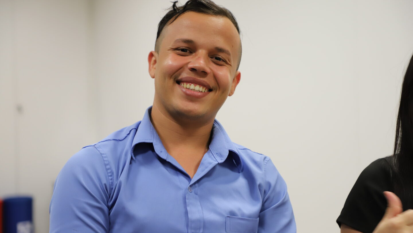 Brazil. LGBTI Venezuelan thrives at work after dramatic journey to survive