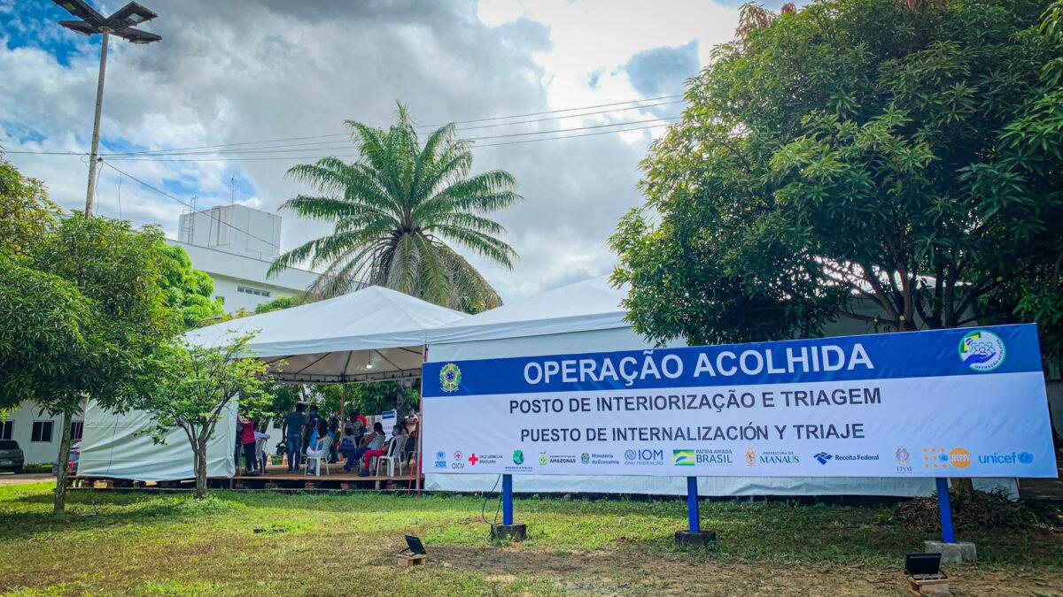 Plataforma R4V apoia Operação Acolhida na retomada dos atendimentos a refugiados e migrantes venezuelanos em Manaus