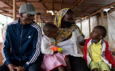 Refugiados do Burundi voltam para casa esperançosos