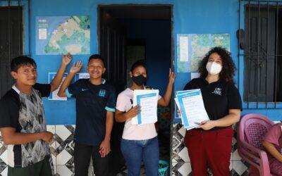 Georreferenciamento de mapas ajuda indígenas venezuelanos a acessar direitos no Pará