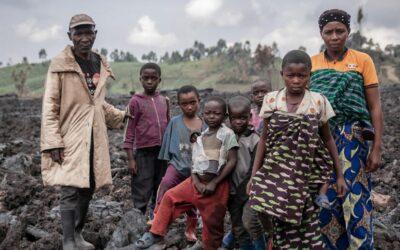 Vulcão deixa rastro de destruição na RDC, mas resiliência permanece