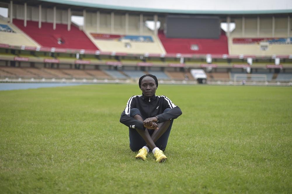 Kenya. Refugee Athletic Team Training.