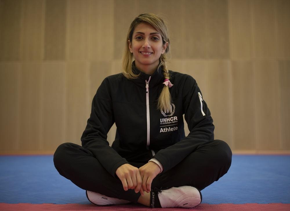 Netherlands. Dina Pouryounes Langeroudi, Refugee Olympic Team hopeful