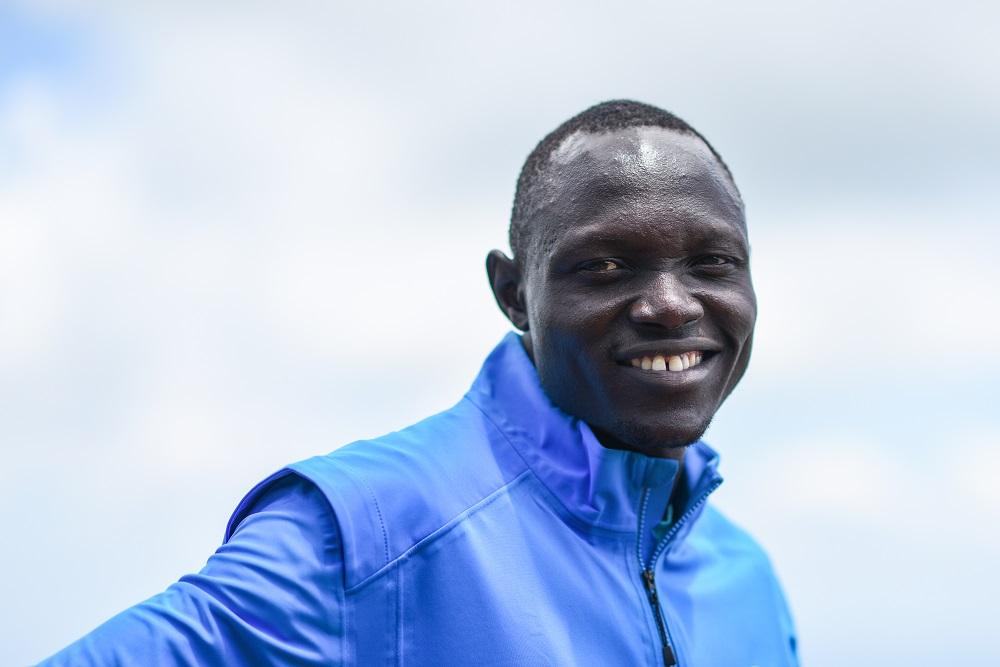 Kenya. IOC Refugee Athlete Scholarship Holders training ahead of the Tokyo Olympics 2020