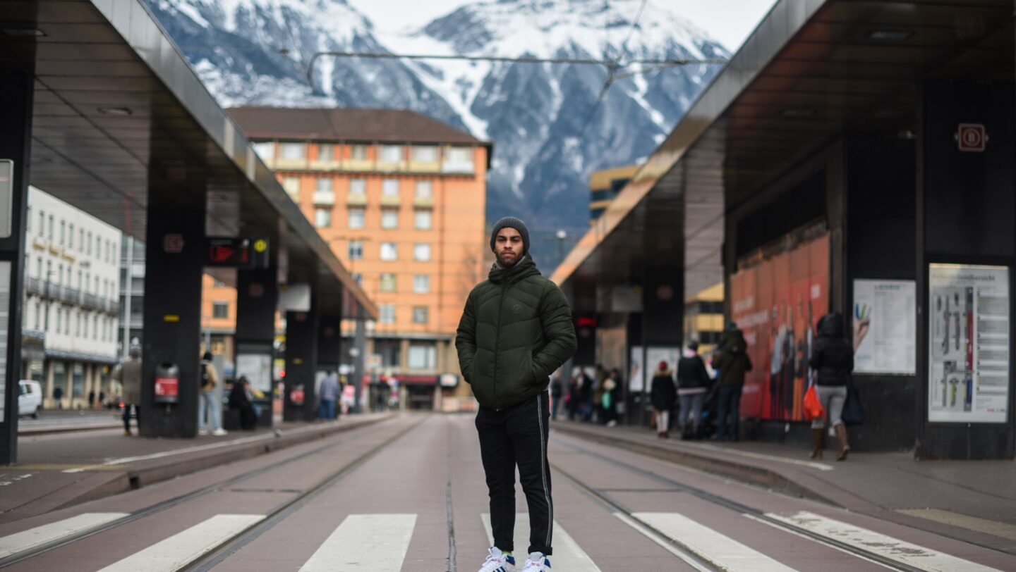 Austria. IOC Refugee Scholarship Holder Aker Al Obaidi trains with hopes to attend the Tokyo 2020 Olympics.