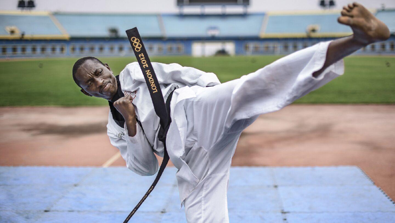 Rwanda. Impact of sport in uplifting the spirit and hopes of refugees at Mahama refugee camp