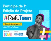 ACNUR e IKMR lançam projeto para promover o protagonismo juvenil digital entre jovens refugiados