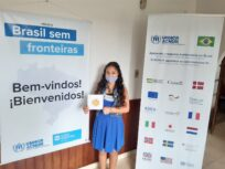 Jovem venezuelana que vive em MG é uma das vencedoras de concurso global do ACNUR