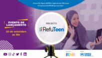 ACNUR e IKMR lançam projeto digital #RefuTeen para jovens refugiados e migrantes