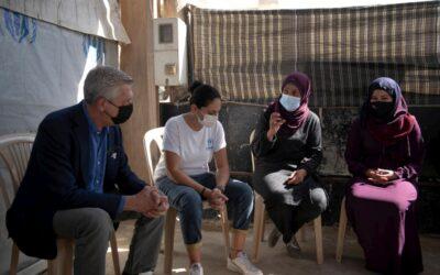 Alto Comissário da ONU para Refugiados, Filippo Grandi pede apoio para a crise no Líbano
