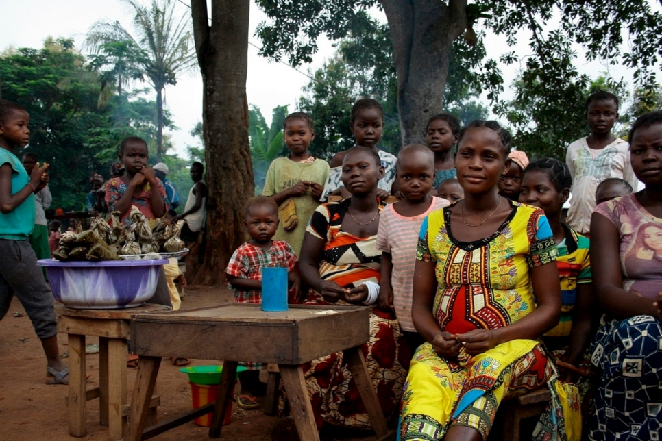 ACNUR - Nueva ola de violencia en la República Centroafricana causa niveles  récord de desplazamiento