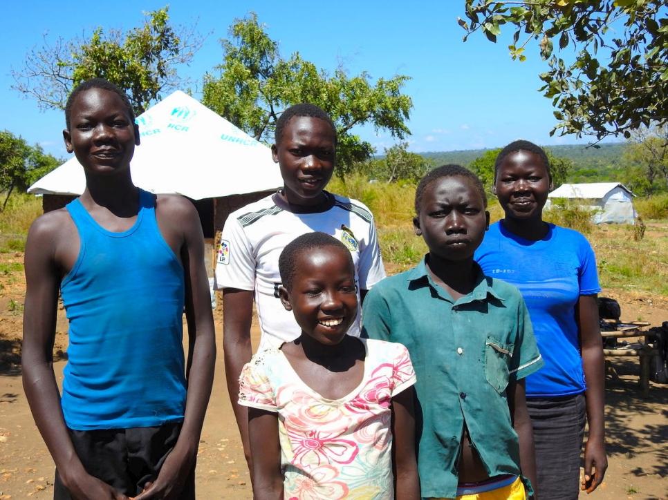 reunión de las niñas en la república democrática del congo