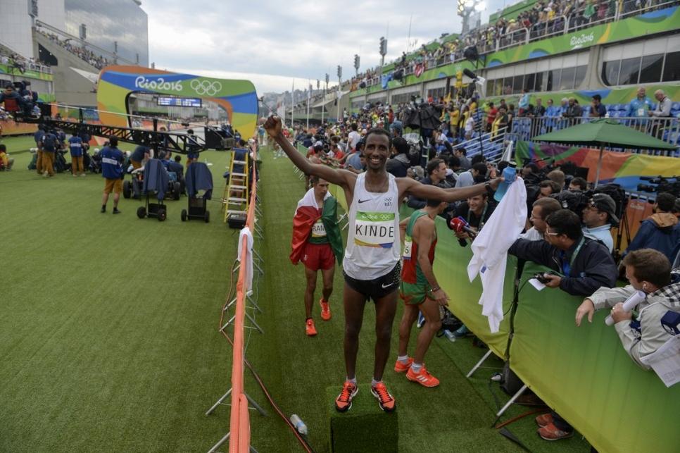 ab23fa0760 El último integrante del Equipo Olímpico de Atletas Refugiados en competir  en Río 2016