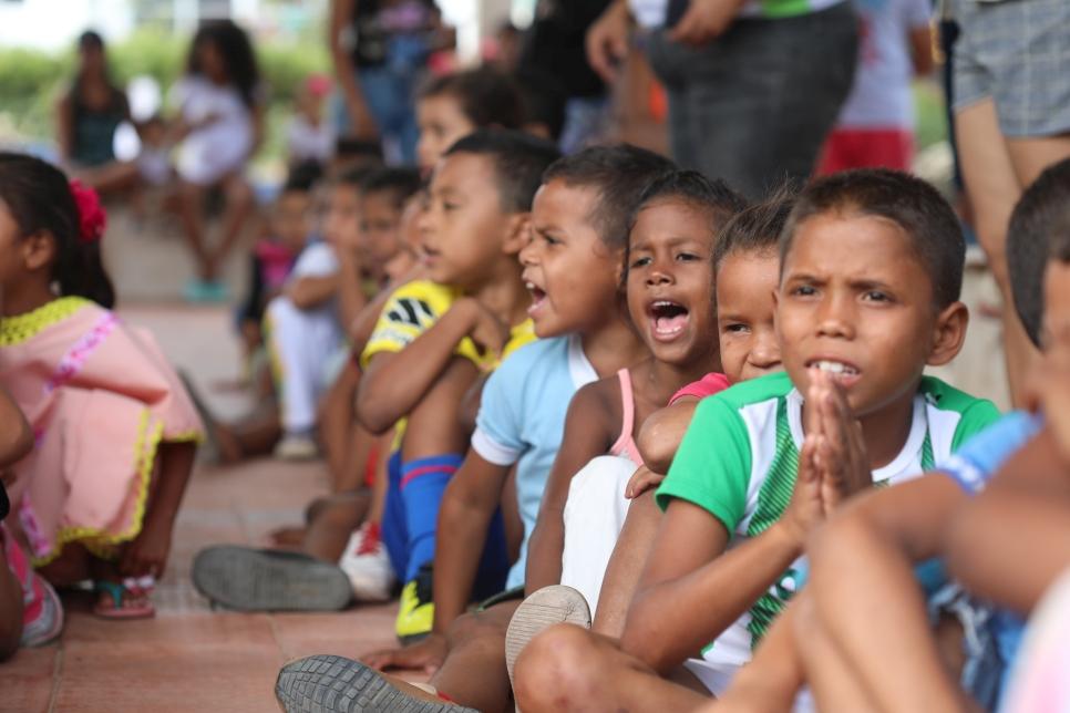 Gracias al Gobierno alemán por generar espacios como estos, donde niños, niñas, adolescentes y jóvenes venezolanos y colombianos se unen entorno al compañerismo y la integración.