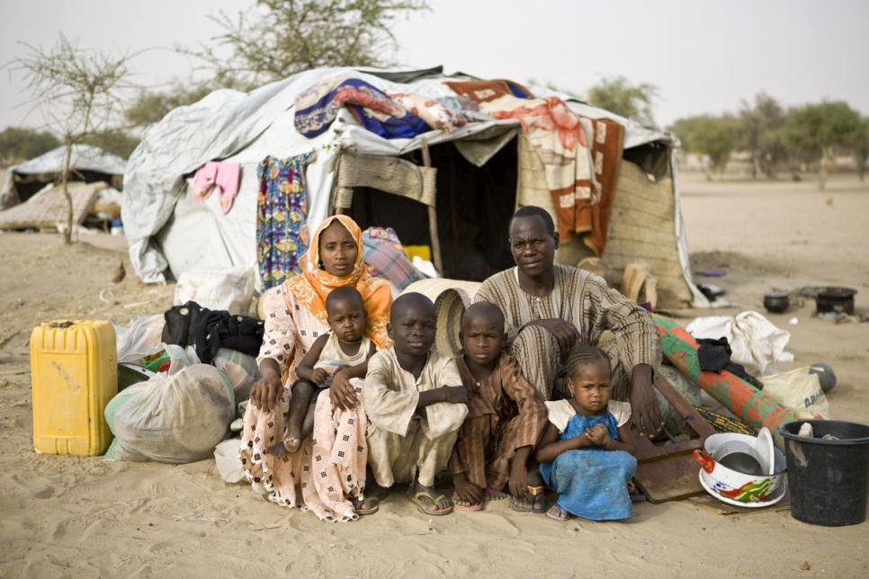 Refugiados nigerianos en Níger, 12 mayo de 2016.