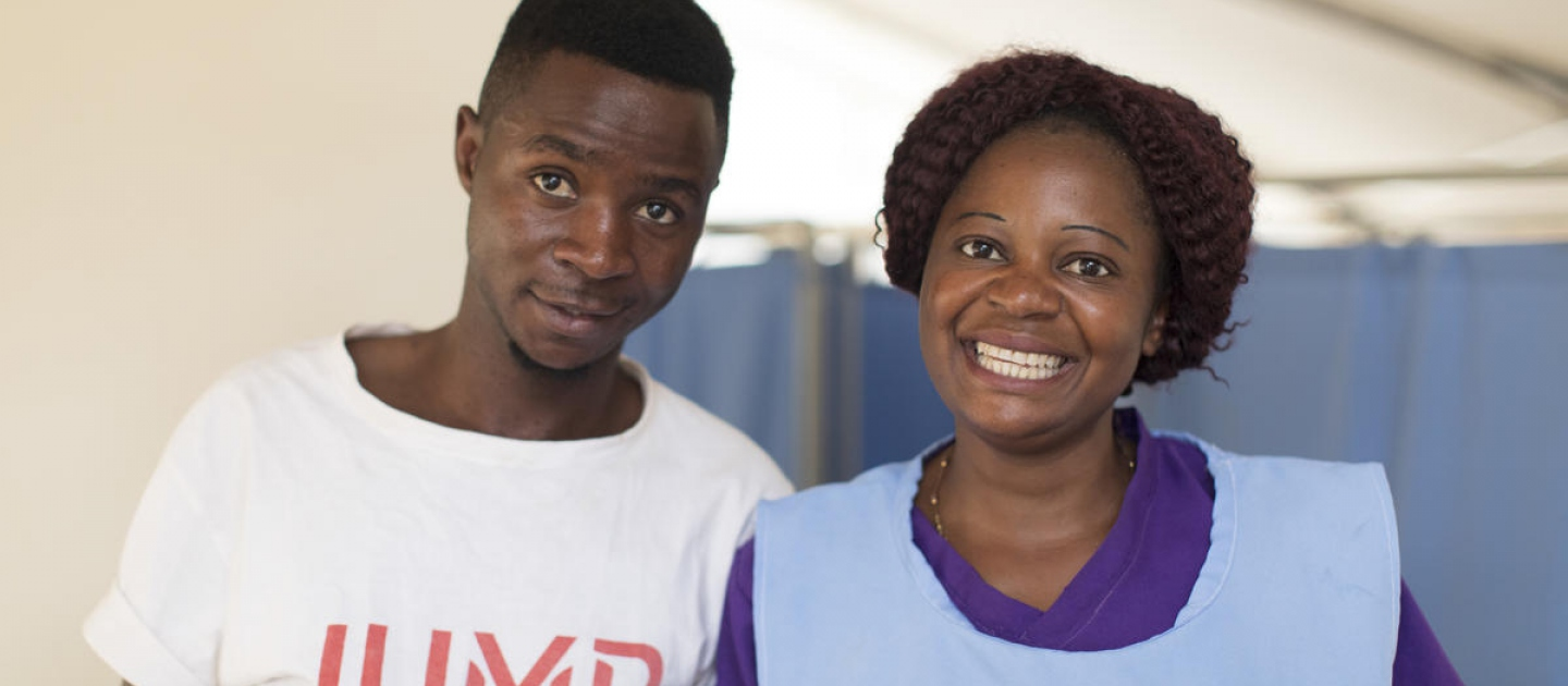 Zambia. Congolese refugees find peace among welcoming Zambians